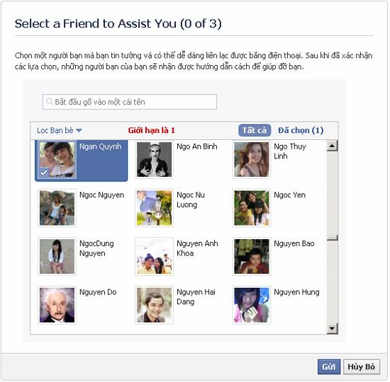 Lam Gi Khi Quen Mat Khau Facebook